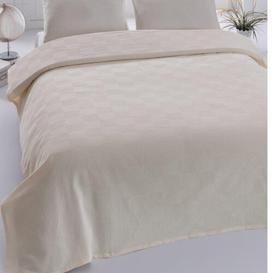 image-Sebeka Single Bedspread Brayden Studio Colour: Cream