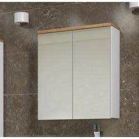 image-Bali 60 cm x 70 cm Surface Mount Mirror Cabinet Belfry Bathroom