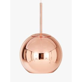 image-Tom Dixon Copper Round Ceiling Light, Dia.25cm