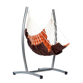 image-Grand Isle Metal Hanging Chair Stand Sol 72 Outdoor Size: 182cm H x 135cm W x 111cm D