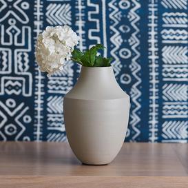 image-Kawar Matted Beige Vase