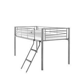 image-Domino Mid Sleeper Bed  - Mid Sleeper With Standard Mattress