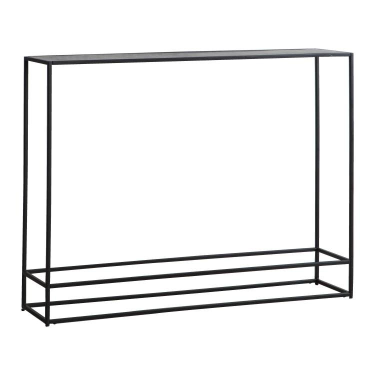 image-Hadston Console Table Antique Silver