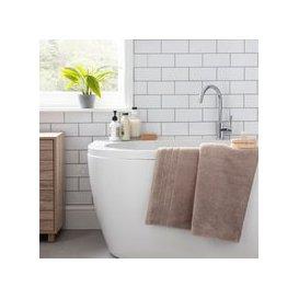 image-Hotel Egyptian Pebble Bath Sheet Natural