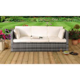 image-Katelin Garden Sofa with Cushions Sol 72 Outdoor Colour: Grey