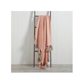 image-Romily 130cm x 180cm Throw Blush