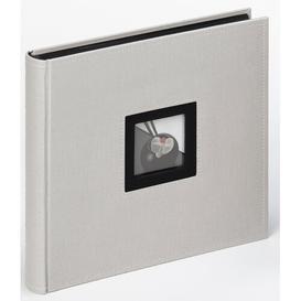 image-Photo Album Mercury Row Colour: Grey, Size: 26cm H x 25cm W x 4cm D