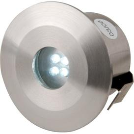 image-Cranleigh 4 Light LED Deck, Step and Rail Lights Sol 72 Outdoor Bulb Type: White
