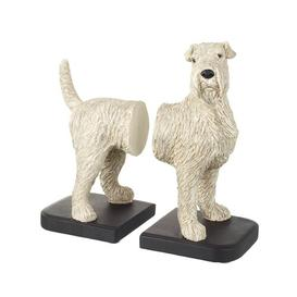 image-Fox Terrier Bookends August Grove