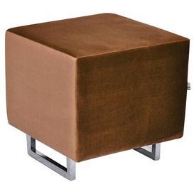image-Cubi Footstool Happy Barok Upholstery: Brown