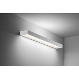 image-Lantigua 1 -Light LED Flush Mount Ebern Designs Size: 5cm H x 58cm W x 13cm D, Brightness: 2120, Colour Temperature: 4000