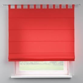 image-Loneta Blackout Roman Blind Dekoria Size: 130cm W x 170cm L, Finish: Red