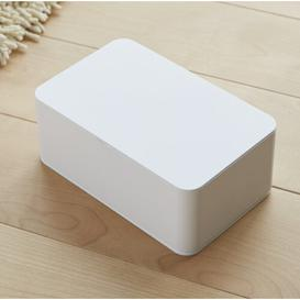 image-Smart Wet Tissue Box Cover Yamazaki Colour: White