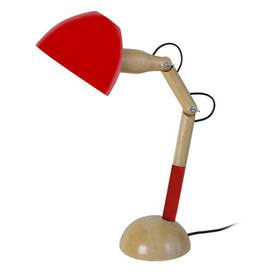 image-Hickmon 64cm Desk Lamp Brayden Studio Finish: Red