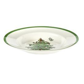 image-Christmas Tree Salad or Dessert Plate Spode
