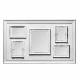 image-Alton Multi Picture Frame Three Posts Colour: White