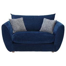 image-Big Blue Snuggle Chair