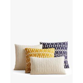 image-west elm Mariposa Lumbar Cushion, Natural