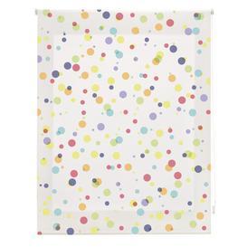 image-Room Spots Sheer Roller Blind Ebern Designs Size: 150cm W x 250cm L