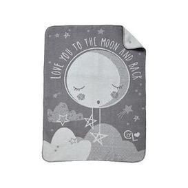 image-Clair De Lune Clair De Lune Over The Moon Fleece Blanket