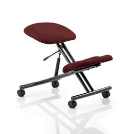 image-Ortegon Height Adjustable Kneeling Chair Brayden Studio Colour: Ginseng Chilli