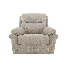 image-Comfort Story - Verse Fabric Manual Recliner Love Seat - Beige