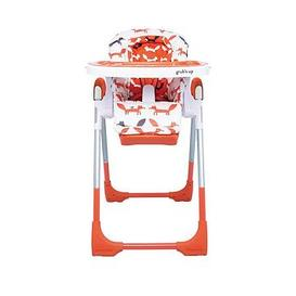 image-Cosatto Noodle 0+ Highchair, With Newborn Recline - Mister Fox