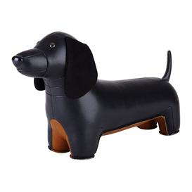 image-Z├╝ny - Dachshund Bookend - Black & Tan