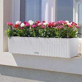 image-Balconera Plastic Self-Watering Planter Box
