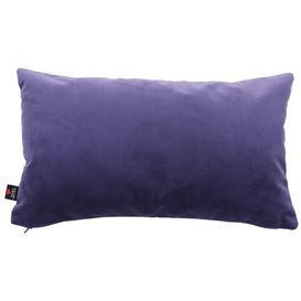image-Moleskin Velvet Cushion Pad Yorkshire Fabric Shop Colour: Purple