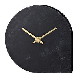 image-AYTM - Stilla Marble Clock - Black