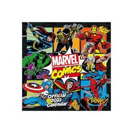 image-Marvel Comics Classic Square Calendar 2021