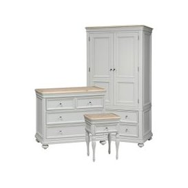 image-Ashwicke Grey Bedroom Set with Double Wardrobe
