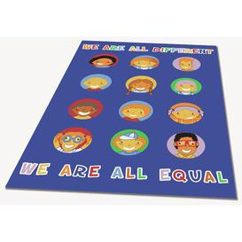image-Arias We Are All Equal Play Mat Isabelle & Max