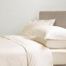 image-Elveden 200 Thread Count Tailored Bed Valance Symple Stuff Size: 152cm W x 200cm L, Colour: Cream