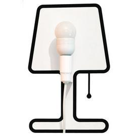 image-Tiny Lampe Wall light with plug - Set sticker + electric kit by Pa Design Black