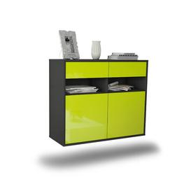 image-Rosemond Sideboard Mercury Row Colour: High Gloss Green