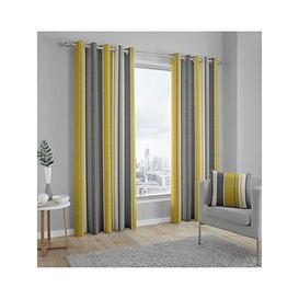 image-Fusion Whitworth Lined Eyelet Curtains