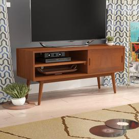 """image-Staveley TV Stand for TVs up to 50"""" Blue Elephant Colour: Natural"""
