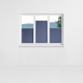 image-Affoux Pleated Blind Symple Stuff Size: 40 x 130cm, Colour: Midnight blue