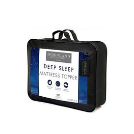 image-Downland Deep Sleep Hollowfibre Mattress Topper