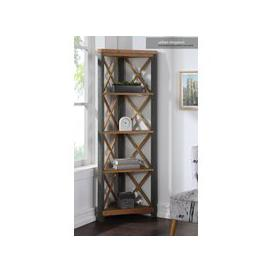 image-Baumhaus Urban Elegance - Reclaimed Large Corner Bookcase