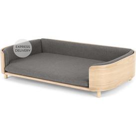 image-Kyali Dog Sofa, L/XL, Natural Ash & Grey