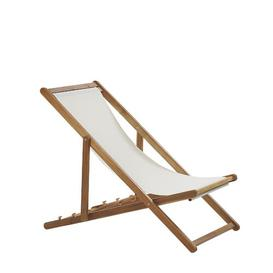 image-Wooden Folding Deck Chair Light Iolo Sol 72 Outdoor Colour (Frame): Dark Brown