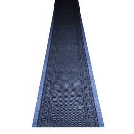 image-Blue Indoor/Outdoor Area Rug Breakwater Bay Rug size: Runner 67 x 350 cm