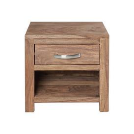 image-1 Drawer Bedside Table
