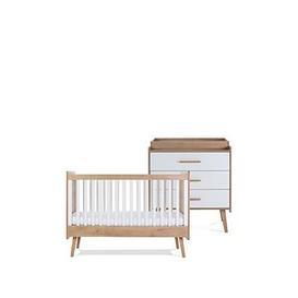 image-Silver Cross West Port Cot Bed & Dresser