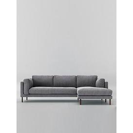 image-Swoon Munich Fabric Right Hand Corner Sofa - Smart Wool