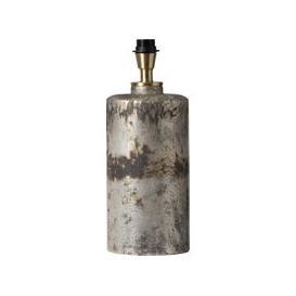 image-Aida Glass Table Lamp (Finish: Silver/Brass)