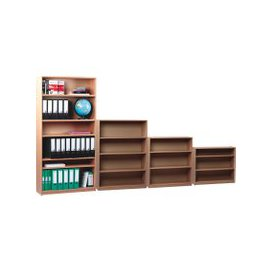 image-School Bookcase, Beech, Free Standard Delivery